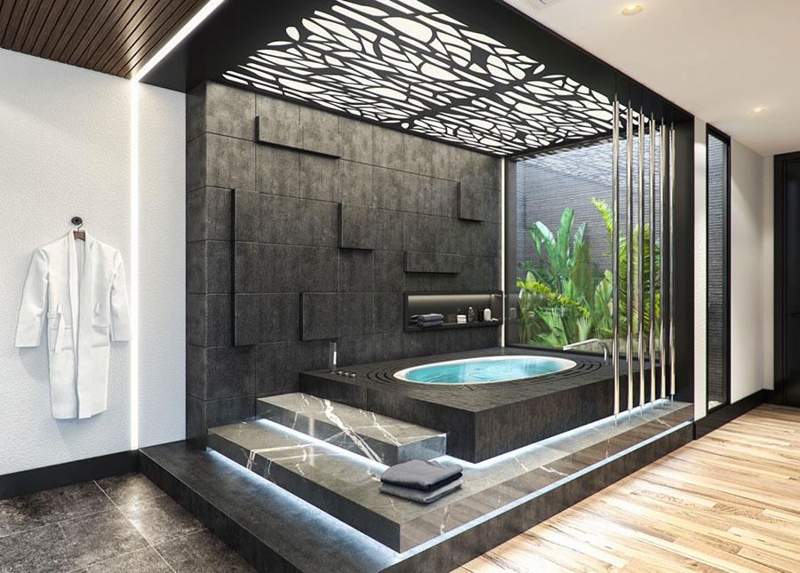 Idee per decorare il bagno n.25