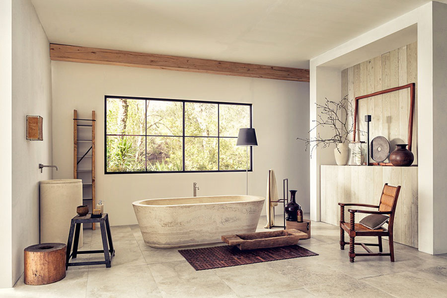 Idee per decorare il bagno n.27