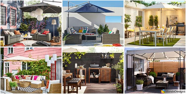 Idee per abbellire un terrazzo con Ikea