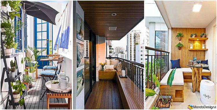 20 idee per arredare un balcone stretto e lungo for Arredo balcone