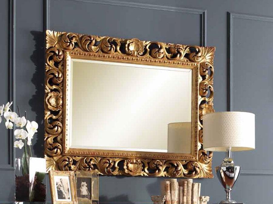 Modello di specchio per ingresso classico n.2