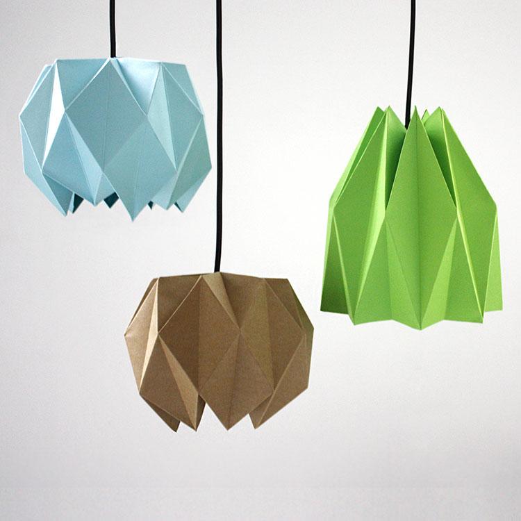 Come creare un paralume fai da te con origami 1