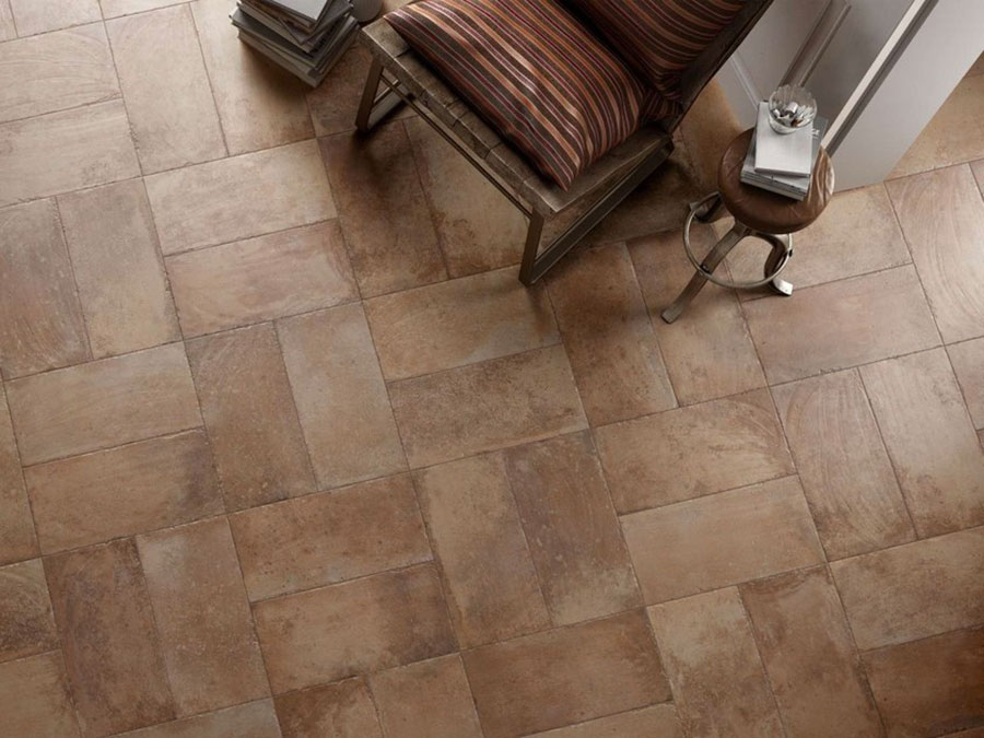 Modello di pavimento in ceramica per cucina classica n.1