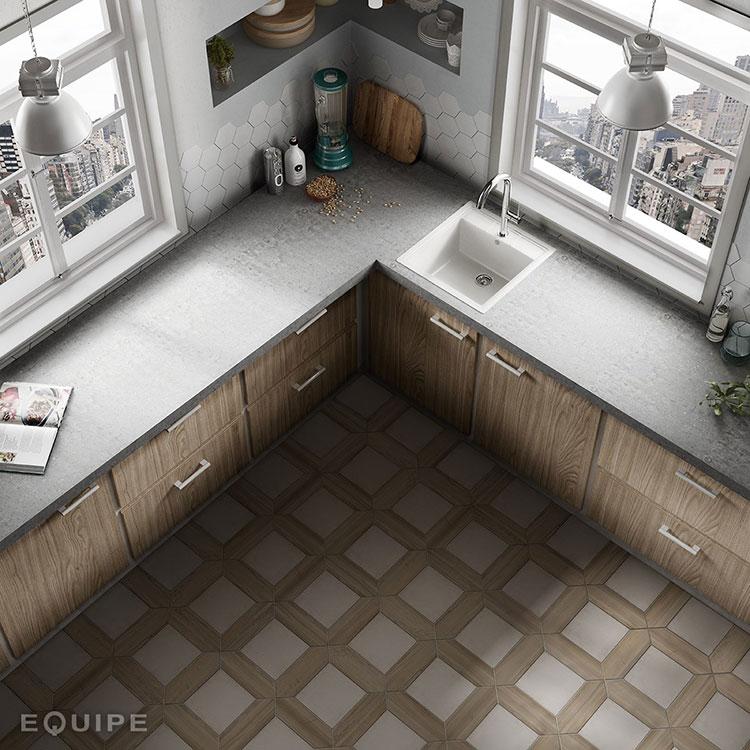 Pavimenti per Cucina Classica: Oltre 60 Idee con Diversi ...