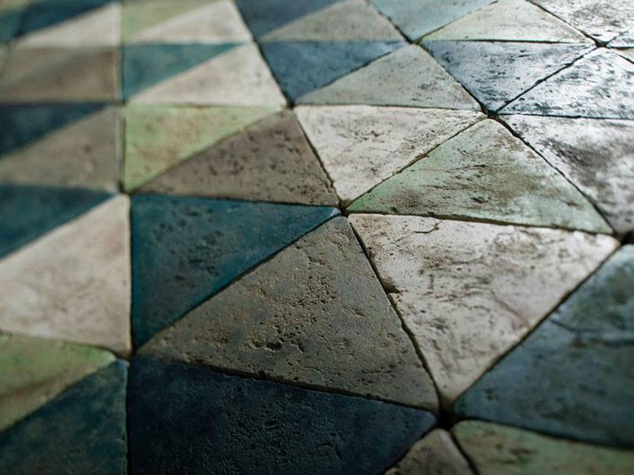 Modello di pavimento in cotto per cucina classica n.1