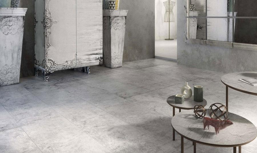 Modello di pavimento in gres porcellanato per cucina classica n.11