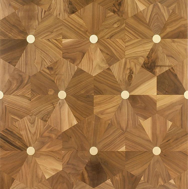 Modello di pavimento in legno per cucina classica n.4