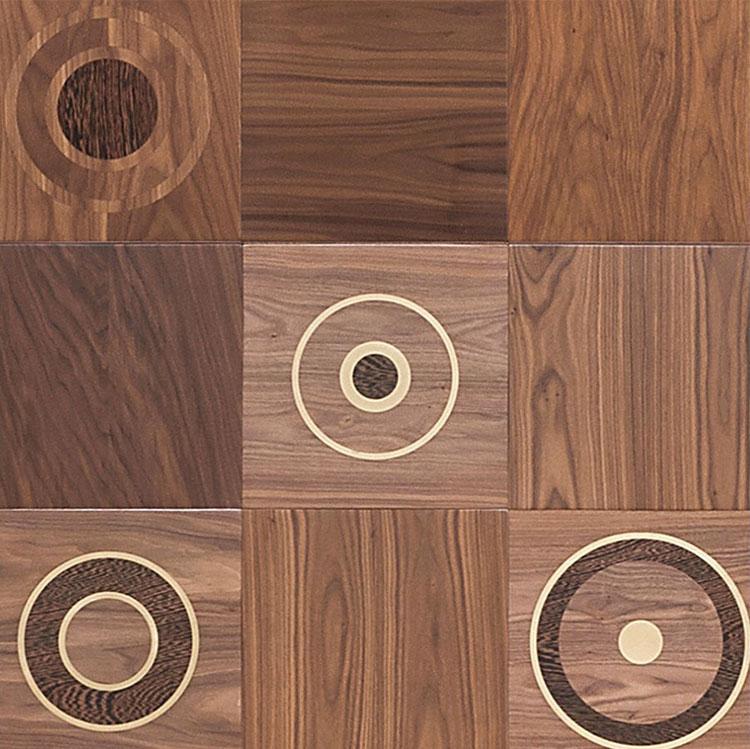 Modello di pavimento in legno per cucina classica n.5
