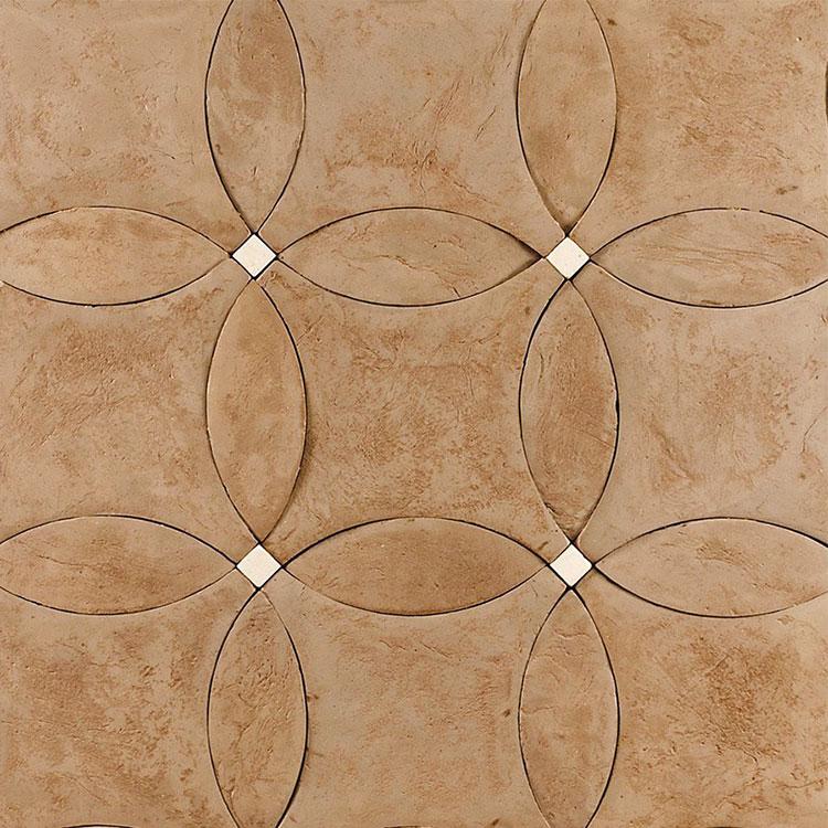 Modello di pavimento in terracotta per cucina classica n.1