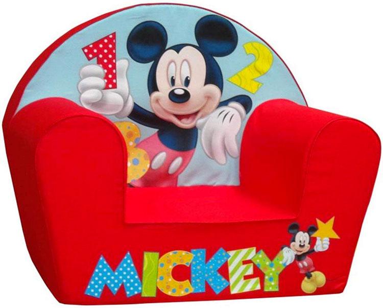 Modello di poltroncina per bambini Disney n.01