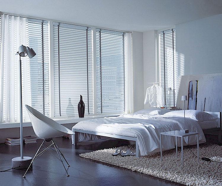 Modello di tende veneziane per camera da letto moderna n.02