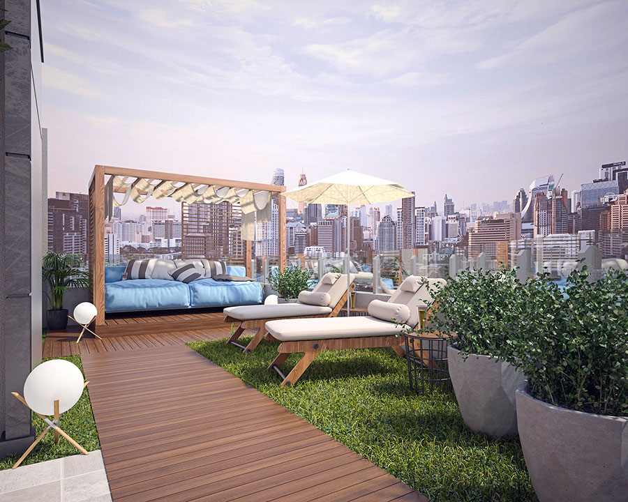 Idee per arredare un terrazzo moderno n.03