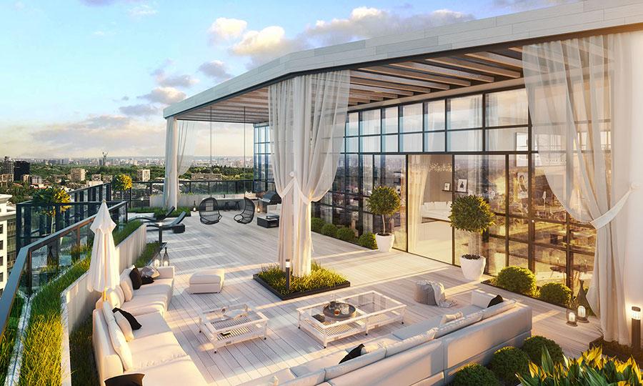Idee per arredare un terrazzo moderno n.05