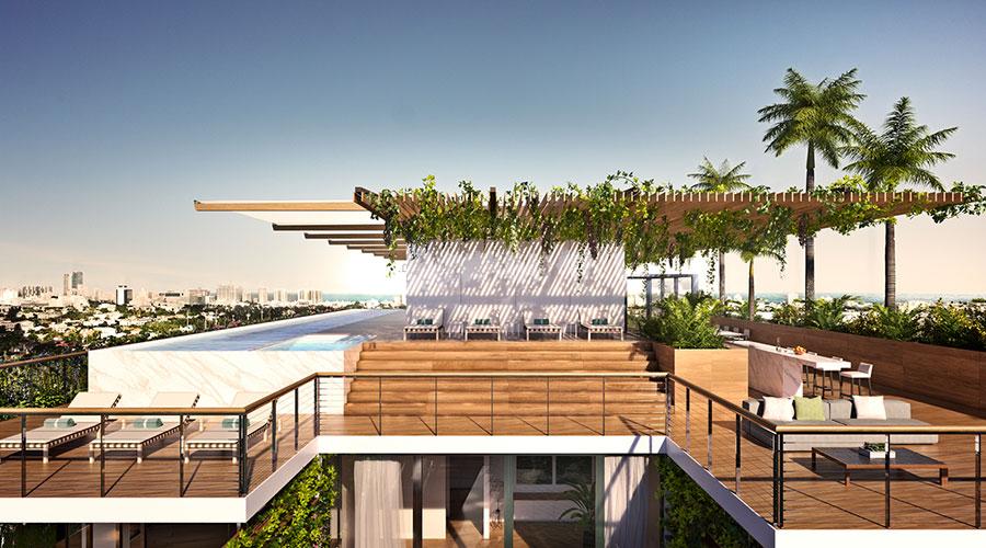 Idee per arredare un terrazzo moderno n.06