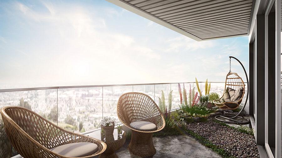 Idee per arredare un terrazzo moderno n.15