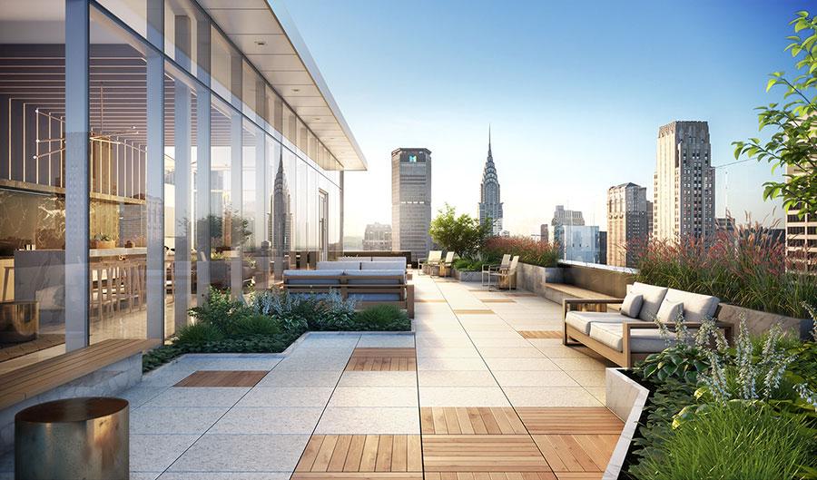 Idee per arredare un terrazzo moderno n.18