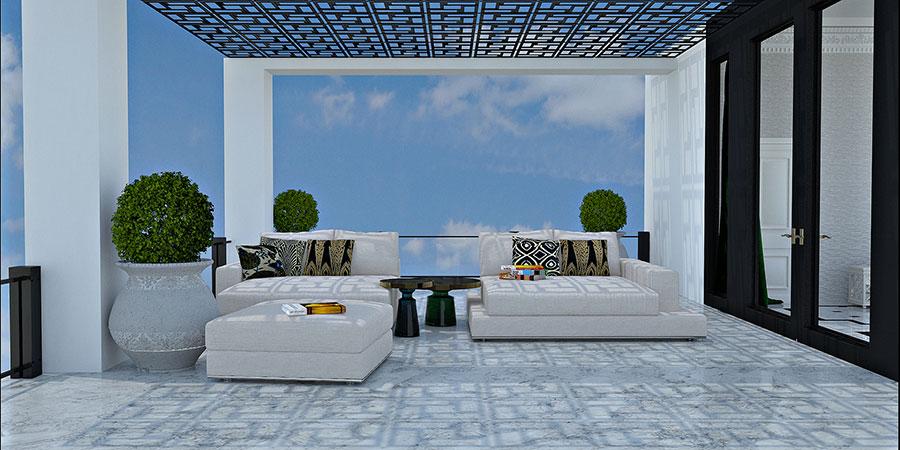 Idee per arredare un terrazzo moderno n.23