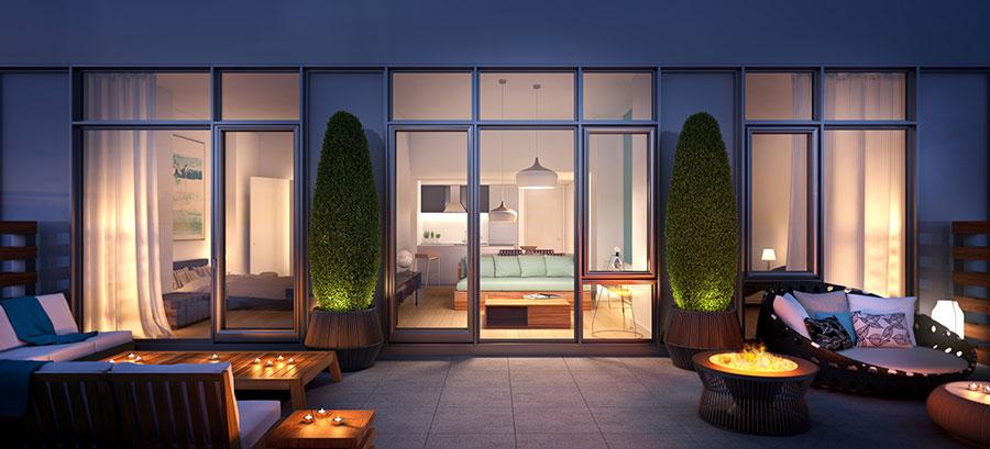 Idee per arredare un terrazzo moderno n.27