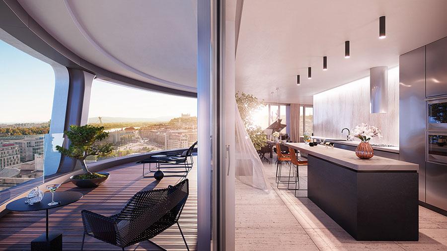 Idee per arredare un terrazzo moderno n.28