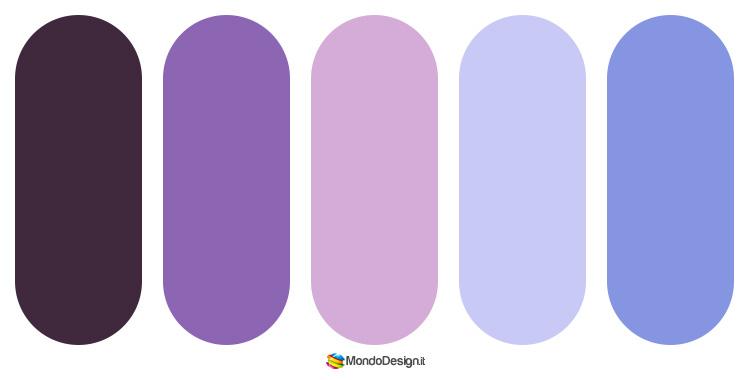 Idee per abbinamenti cromatici con il malva n.05