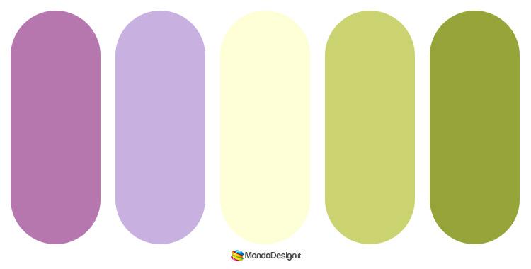 Idee per abbinamenti cromatici con il malva n.06