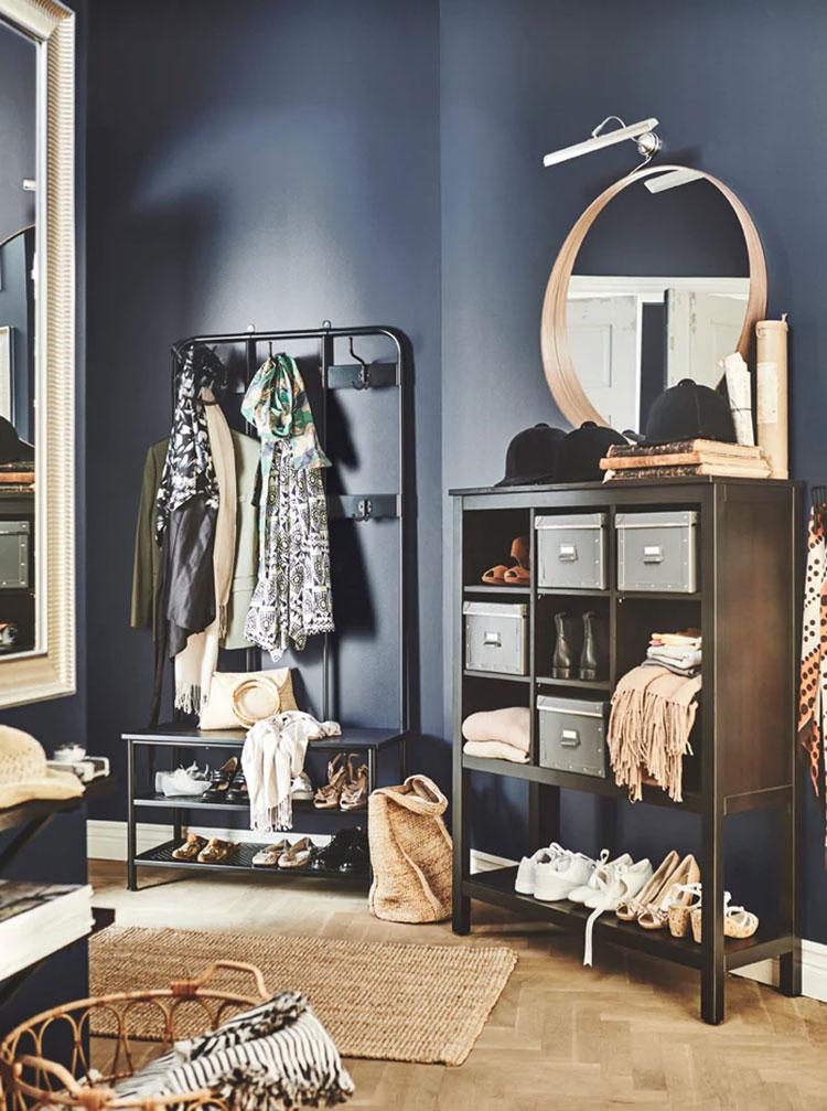 Idee per arredare un ingresso classico con Ikea n.03