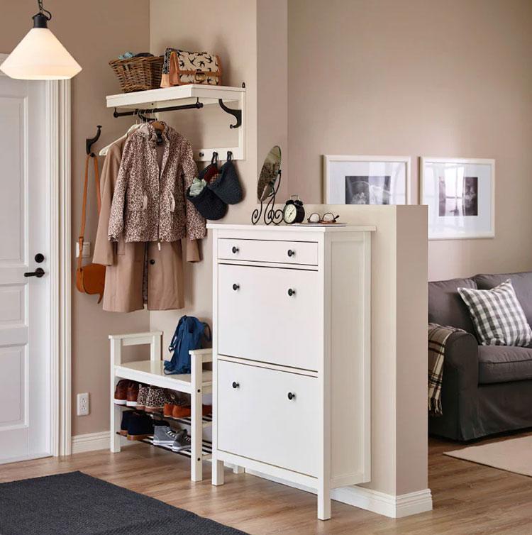 Idee per arredare un ingresso classico con Ikea n.07