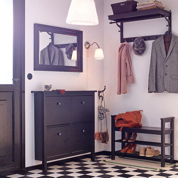 Modello di panca per ingresso Ikea 8