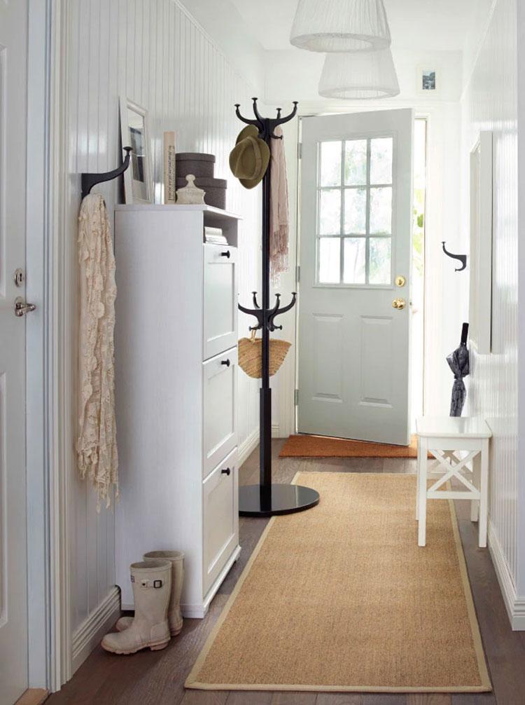 Idee per arredare un ingresso classico con Ikea n.13