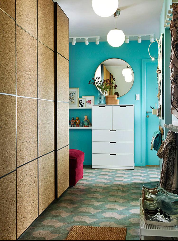 Idee per arredare un ingresso moderno con Ikea n.01