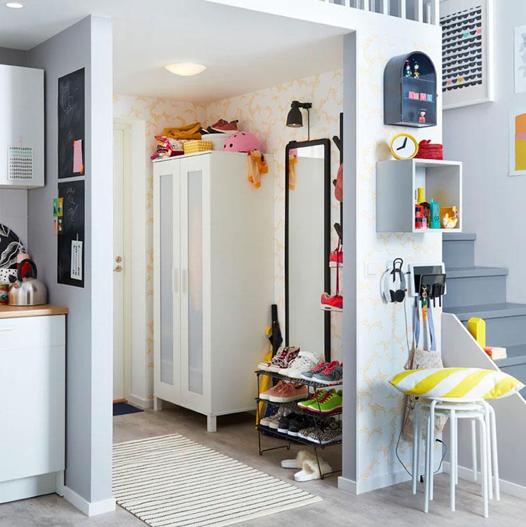 Idee per arredare un ingresso moderno con Ikea n.02