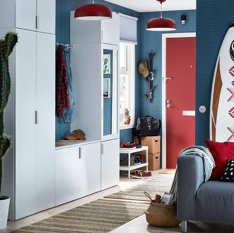 Idee per arredare un ingresso moderno con Ikea n.03