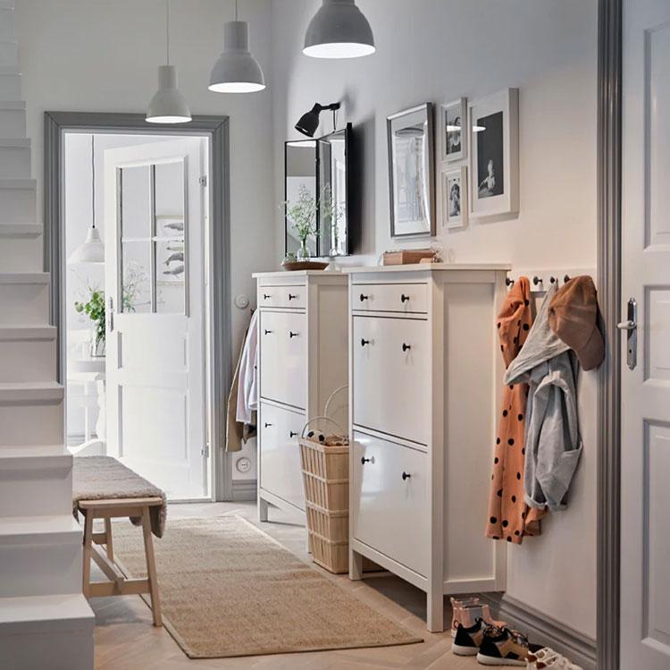 Idee per arredare un ingresso moderno con Ikea n.04