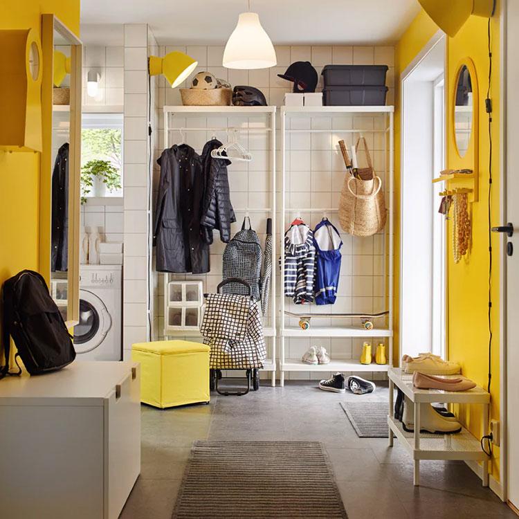 Idee per arredare un ingresso moderno con Ikea n.05