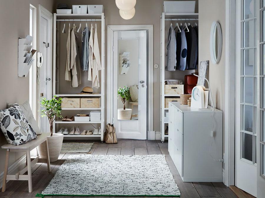 Idee per arredare un ingresso moderno con Ikea n.06