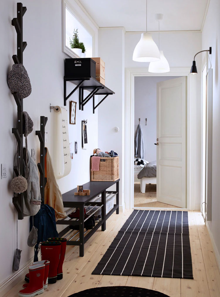 Idee per arredare un ingresso moderno con Ikea n.07