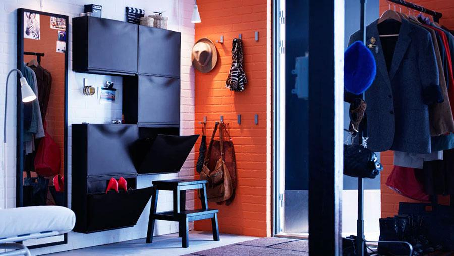 Idee per arredare un ingresso moderno con Ikea n.13