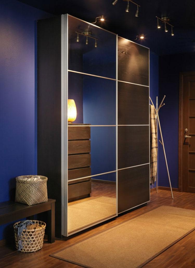 Armadio Guardaroba Ingresso Ikea.Arredare Ingresso Ikea 37 Idee In Stile Moderno E Classico Mondodesign It