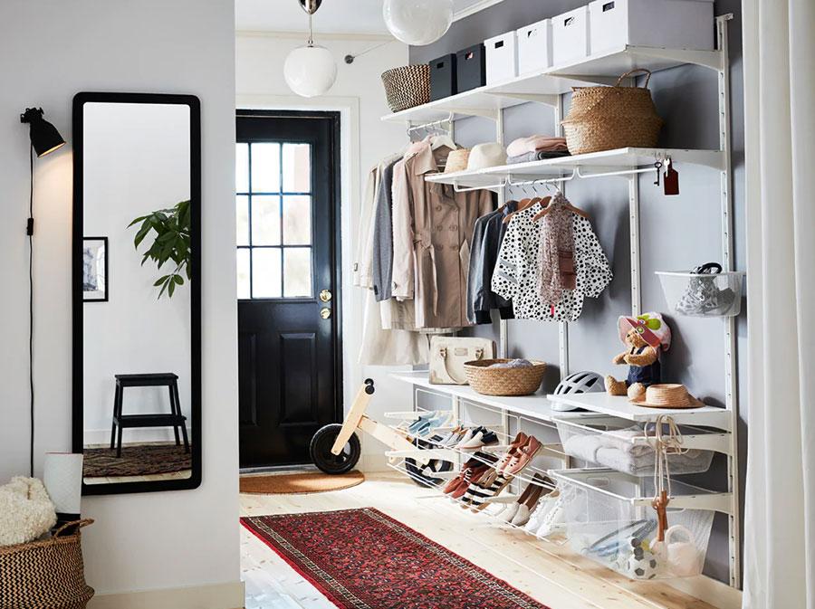 Idee per arredare un ingresso moderno con Ikea n.16
