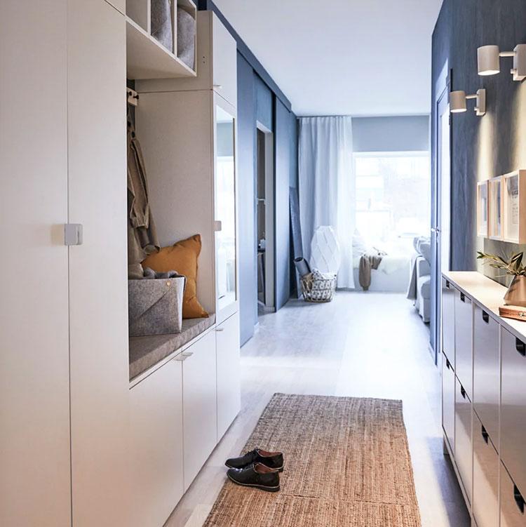 Idee per arredare un ingresso moderno con Ikea n.19