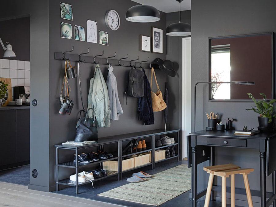 Idee per arredare un ingresso moderno con Ikea n.22