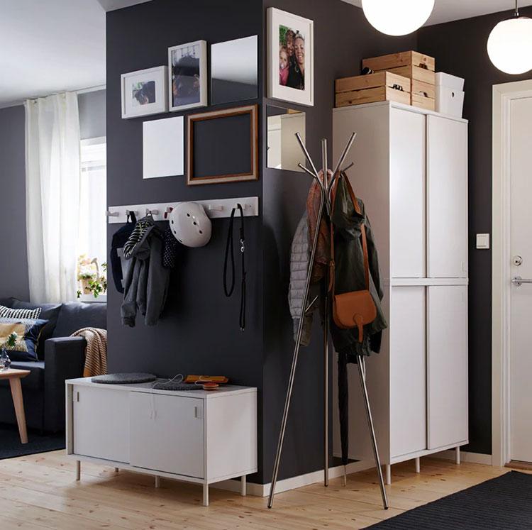 Idee per arredare un ingresso moderno con Ikea n.23