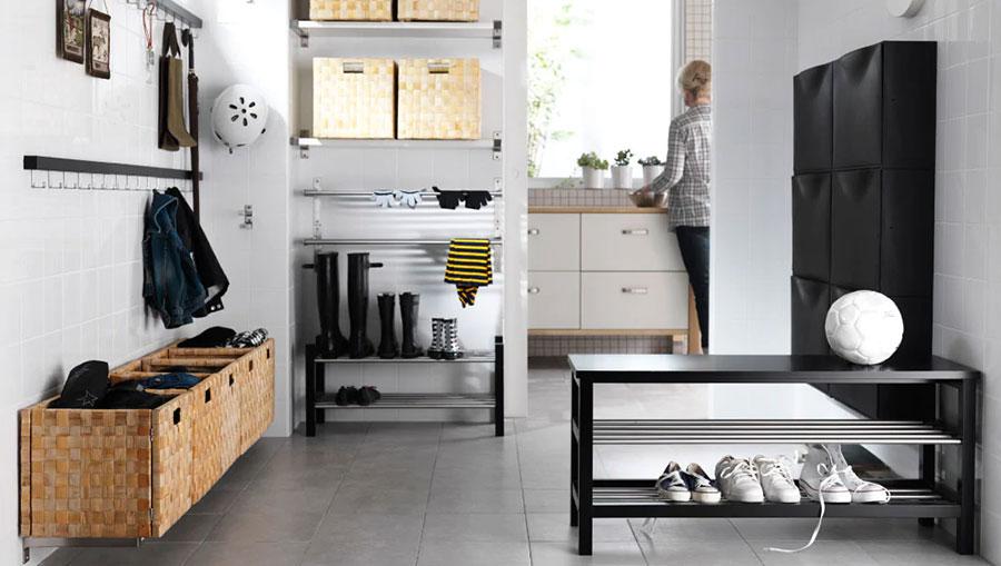 Idee per arredare un ingresso moderno con Ikea n.24