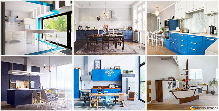 Cucina per casa al mare 20 idee di arredo in diversi for Stili per la casa