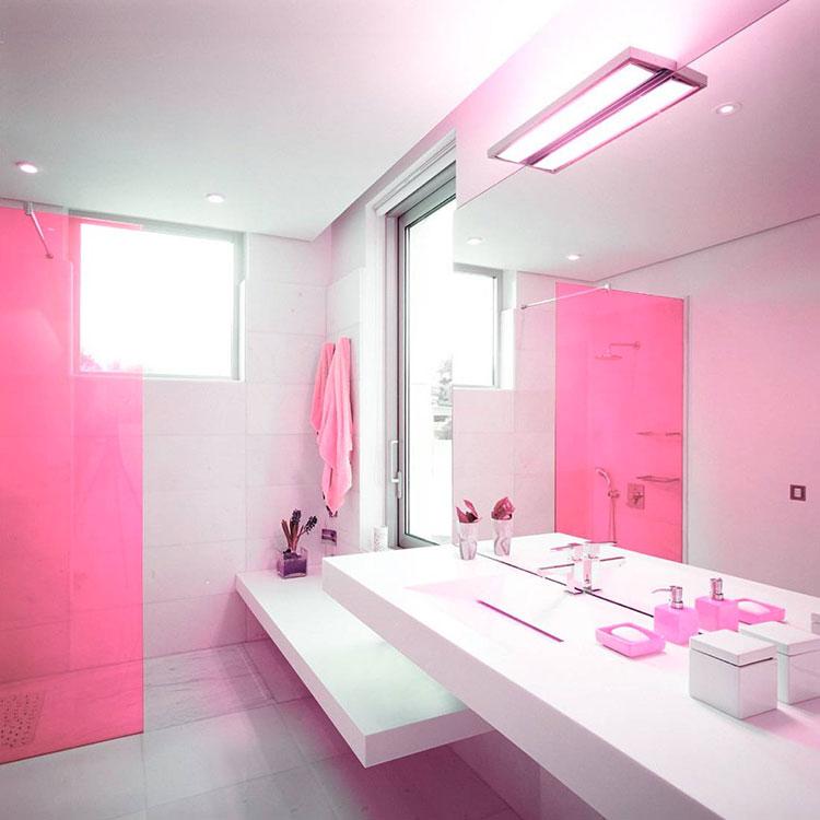 Rivestimenti per bagno rosa 03