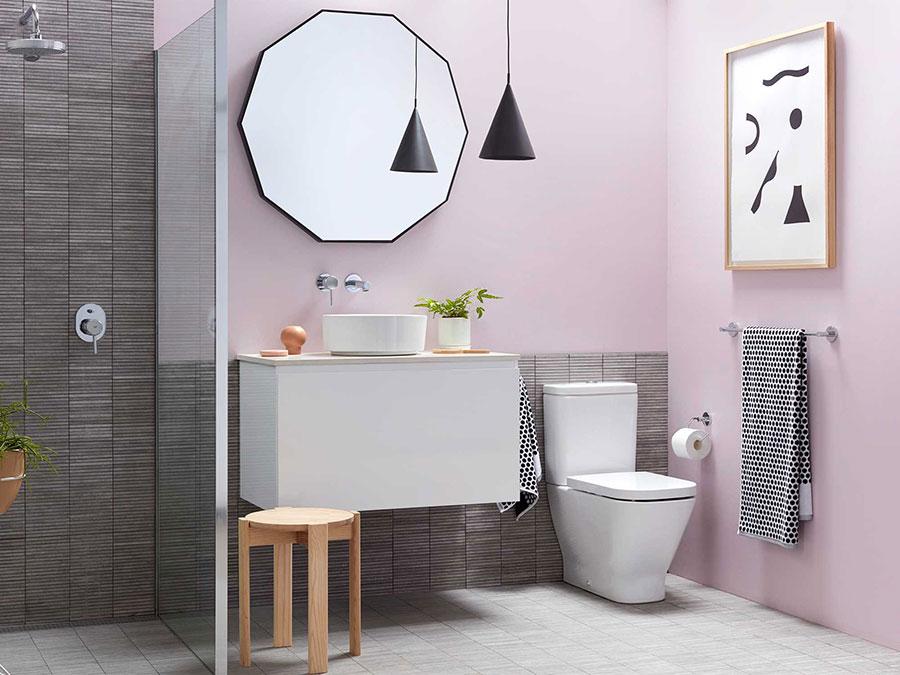 Abbinamenti per bagno rosa 03