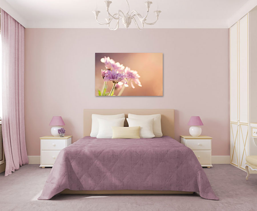 Idee camera da letto color malva 1