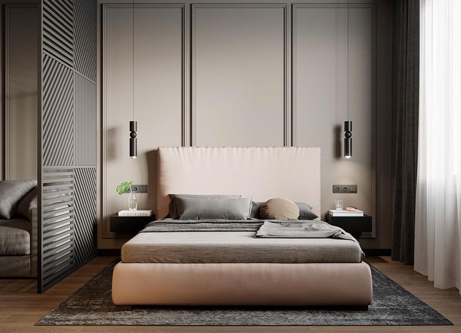 Idee per arredare una camera da letto rosa n.20