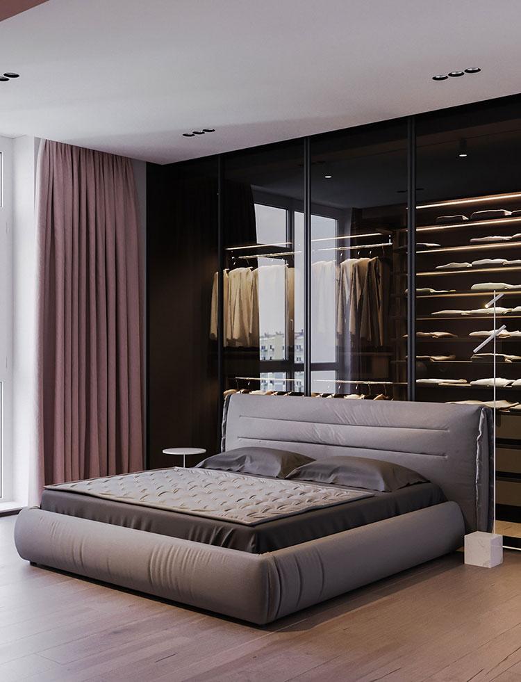 Idee per arredare una camera da letto rosa n.30