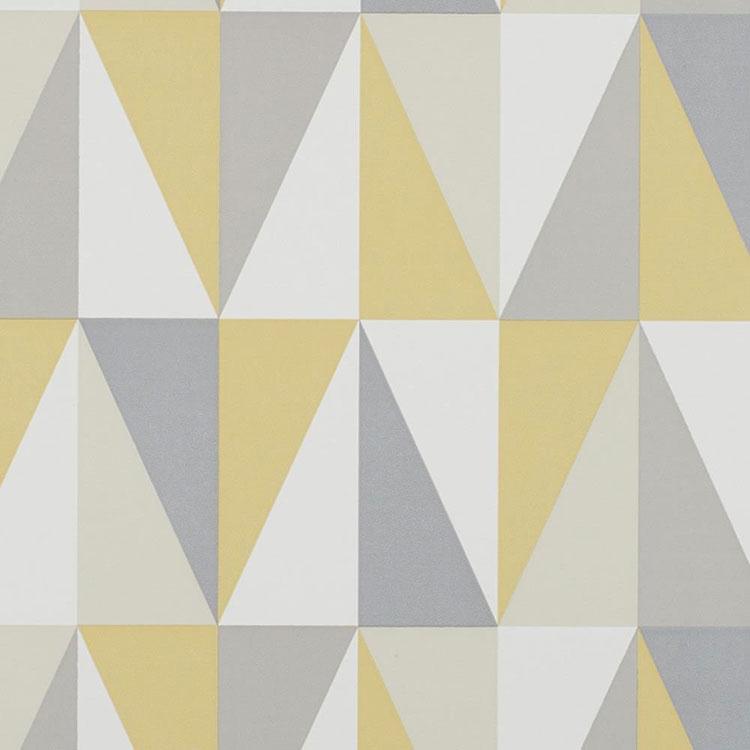 Modello di carta da parati anni 70 con motivo geometrico n.3